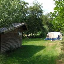Schuur - Natuurcamping Groningen Fleremaheerd